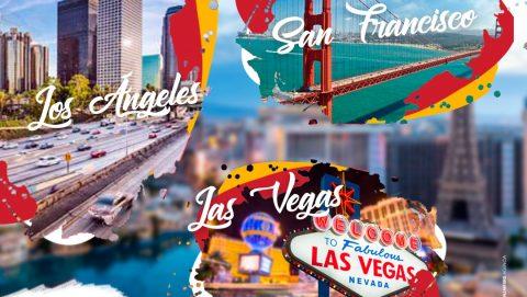 """Ruta """"Los Ángeles- San Francisco- Las Vegas"""""""